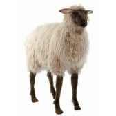 peluche mouton brun anima 3595