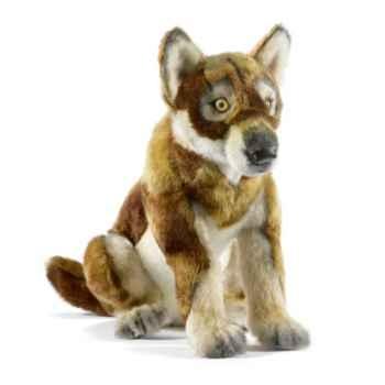 Peluche Loup bébé assis Anima-5514