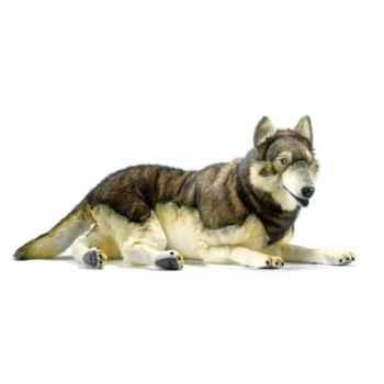 Peluche Loup couché Anima-5510