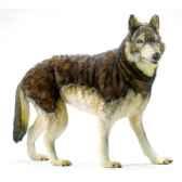 peluche loup a 4 pattes anima 5496