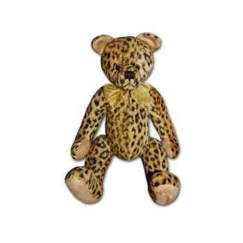 Ours de collection Les Petites Marie Anthonin léopard