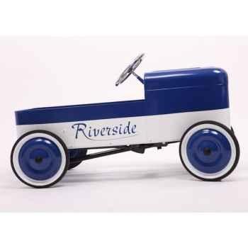 Riverside Baghera Bleu et Blanc-1930