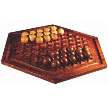 Abalone en bois de palissandre 61cm -ABA1