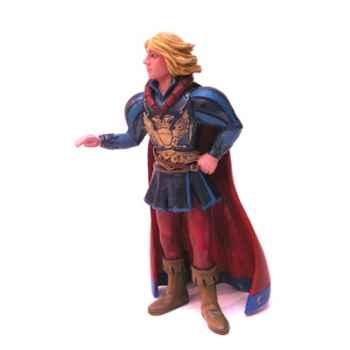 Figurine le prince charmant habit bleu-61367