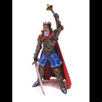 Figurine le roi en armure -61378