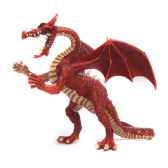 figurine le grand dragon rouge 60436