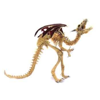 Figurine le dragon squelette rouge-60437