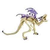 figurine le dragon squelette violet 60230