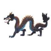 figurine le dragon chinois bleu 60438
