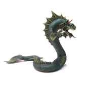 figurine le grand dragon des mers vert 60238