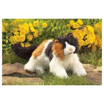 Marionnette Peluche Folkmanis Chat Calico -2825
