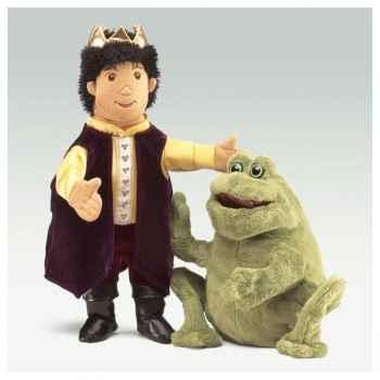 Marionnette Peluche Folkmanis Grenouille Prince -2826