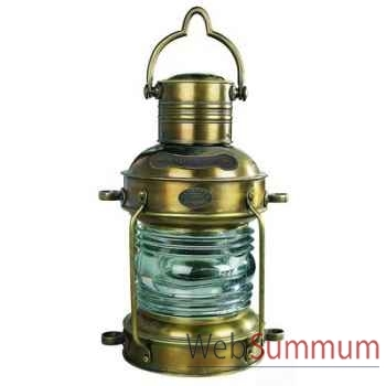 Lampe à Huile Lampe de Mouillage Bronze GM -amfsl045