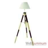 lampadaire lampe tripode topographe rouge amfsl015f