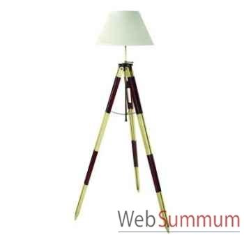 Lampadaire Lampe Tripode Topographe Rouge -amfsl015f