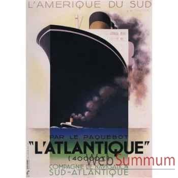 Toile Paquebot L\'Atlantique -amfac367