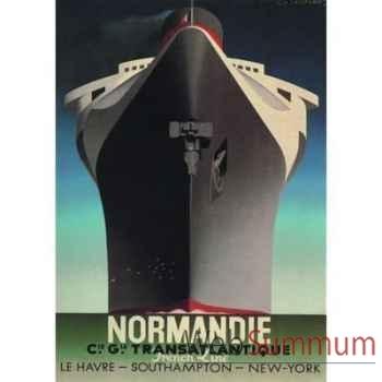 Toile Paquebot Normandie -amfac369