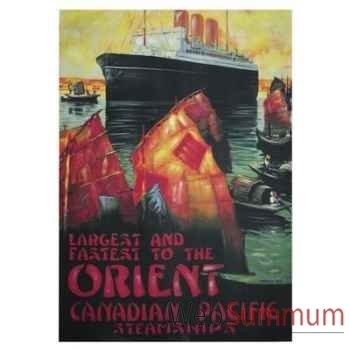 Toile Paquebot Canadian Orient -amfac363