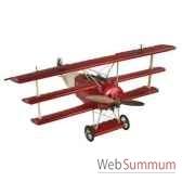 replique d avion fokker triplan baron rouge amfap010