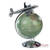 globe avion au sommet du monde amfap108