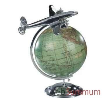 Globe Avion Au Sommet Du Monde -amfap108
