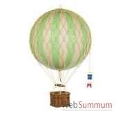 replique montgolfiere ballon vert 18 cm amfap161g