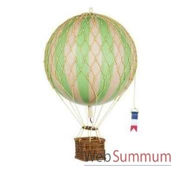 Réplique Montgolfière Ballon Vert 18 cm -amfap161g