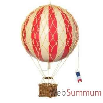 Réplique Montgolfière Ballon Rouge 18 cm -amfap161r
