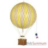 replique montgolfiere ballon jaune 18 cm amfap161y