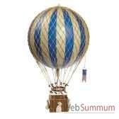 replique montgolfiere royaaero bleu 32 cm amfap163d