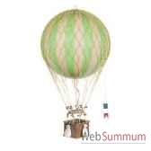 replique montgolfiere ballon vert 32 cm amfap163g