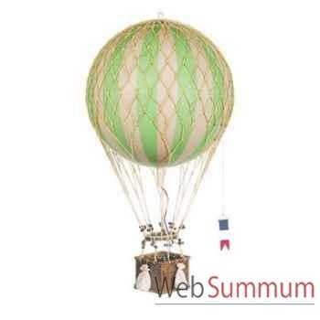 Réplique Montgolfière Ballon Vert 32 cm -amfap163g