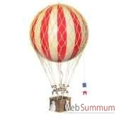 replique montgolfiere ballon rouge 32 cm amfap163r