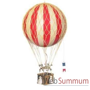 Réplique Montgolfière Ballon Rouge 32 cm -amfap163r