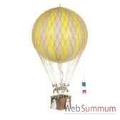 replique montgolfiere ballon jaune 32 cm amfap163y