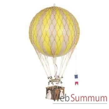 Réplique Montgolfière Ballon Jaune 32 cm -amfap163y