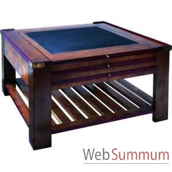 Table basse Table à Jeux Rouge -amfmf006
