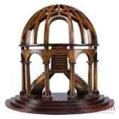 maquette architecture demi dome amfar015