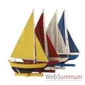 replique bateau flotille de 4 voiliers amfas170