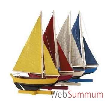 Réplique Bateau Flotille de 4 Voiliers -amfas170