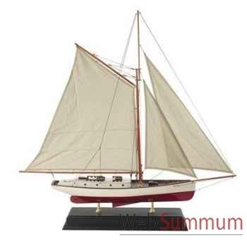 Miniature Bateau Yacht Croisière Classique Mm -amfas133