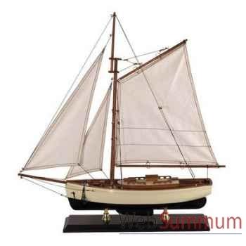 Miniature Bateau Yacht Classique 1930 petit modele -amfas134