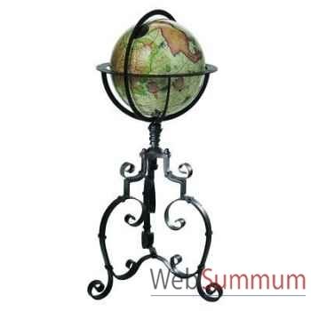 Globe Terrestre Mercator Baroque -amfgl002b