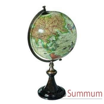 Globe Terrestre Mercator 1541 Support Classique -amfgl002d