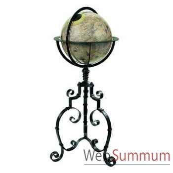Globe Terrestre Hondius Baroque -amfgl003b