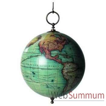 Globe Terrestre Vaugondy à Suspendre -amfgl008a