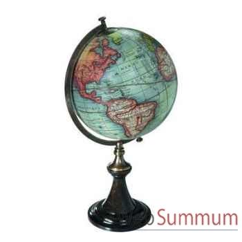 Globe Terrestre Vaugondy 1745 Support Classique -amfgl008d