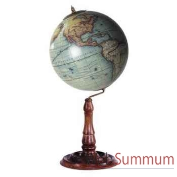 Globe Terrestre Vaugondy 1745 -amfgl021a