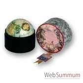 globe terrestre vaugondy 1745 boite mm amfgl028