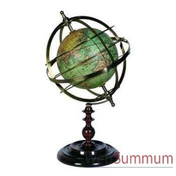 Sphère Armillaire Terrestre -amfgl030